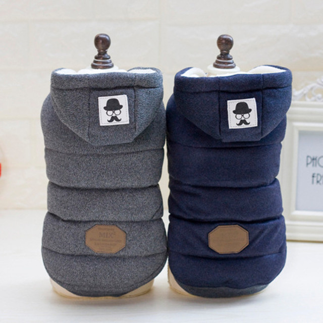 S-XXL Newest super High Quality Pet Dog Clothes Winter Dog's Coat And Jackets Cotton clothing for puppy dog chihuahua yorkshire