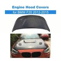 Стайлинга автомобилей углеродного волокна спереди Двигатель Bonnets Гуд Чехлы для BMW F20 2012 2015