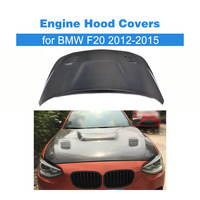 Car Styling Carbon Fiber Front Engine Bonnets Hood Covers for BMW F20 2012 2015