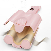 Professional Hair Curling Iron Ceramic Triple Barrel Hair Curler Iron Wave Waver Styling Tool Hairstyle Salon Roller Styler Wand
