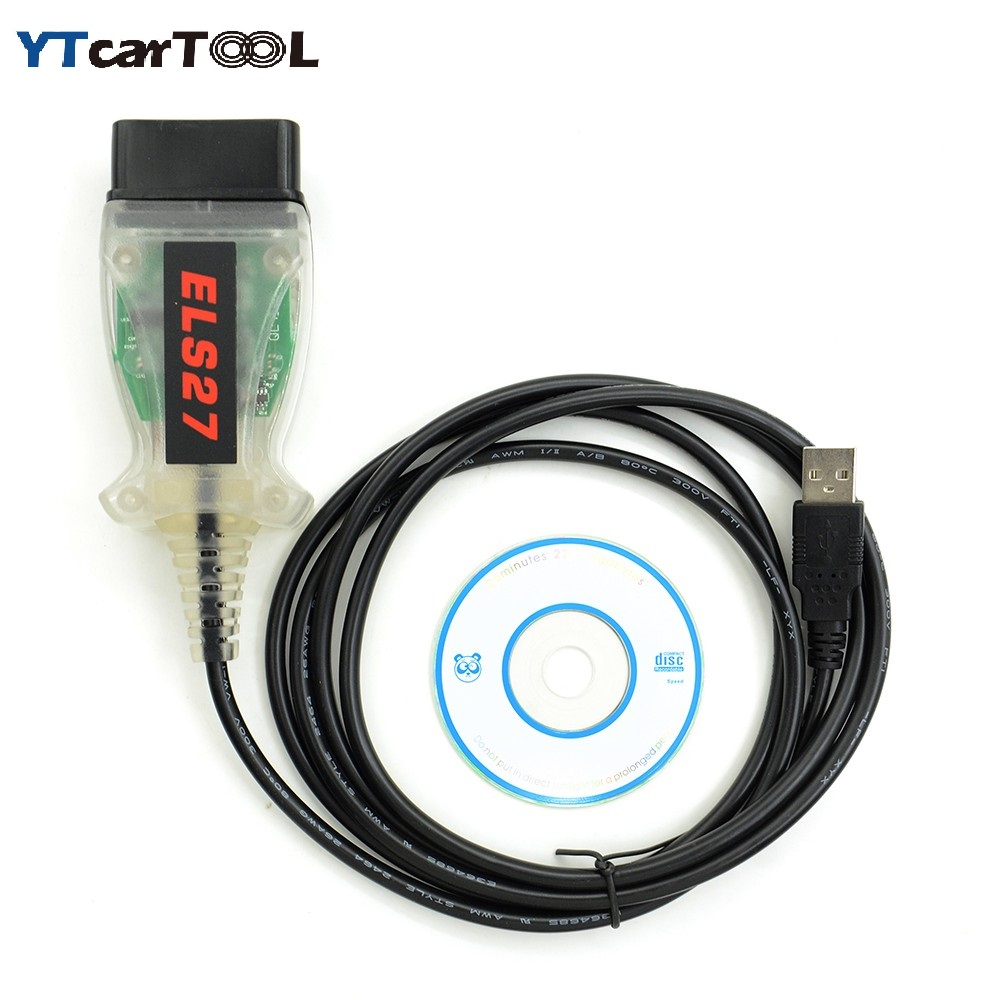US $38 0 |Best quality ELS27 FORScan Scanner for Ford/Mazda/Lincoln and  Mercury Vehicles with free shipping-in Car Diagnostic Cables & Connectors  from