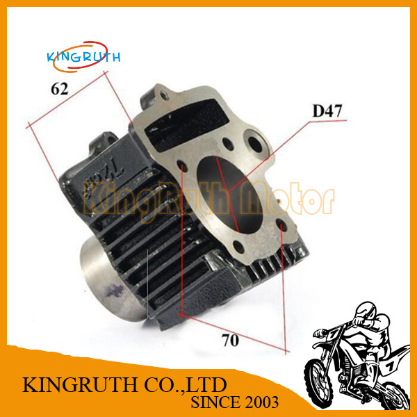Engine cylinder for ATV 72cc moped  diameter 47mm cylinder height 69mm
