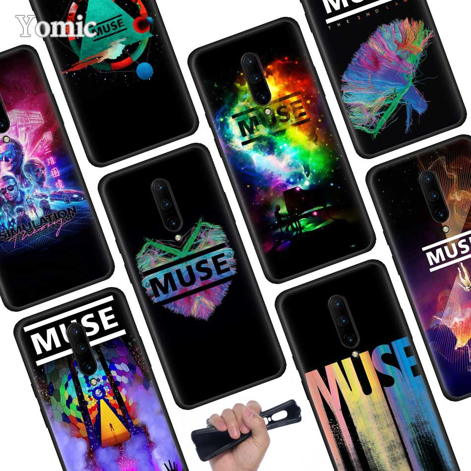 muse band Black Soft Case for font b Oneplus b font font b 7 b font