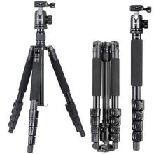 XILETU TB255A+B36 Professional Portable Stable Digital Camera Buckle Tripod & Ball Head kit Stand Bracket For DSLR Camera