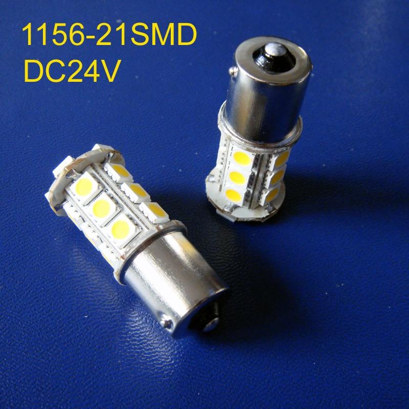 High quality 24V DC10-30V BA15s truck led Light Bulb lamp 1156,BAU15s,P21W,PY21W,R5W,1141 24v led lamps free shipping 2pcs/lot