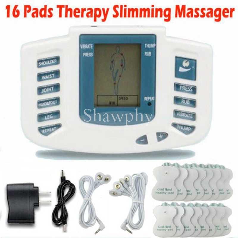 Máquina de Emagrecimento Muscular Dezenas Acupuntura Terapia Massageador