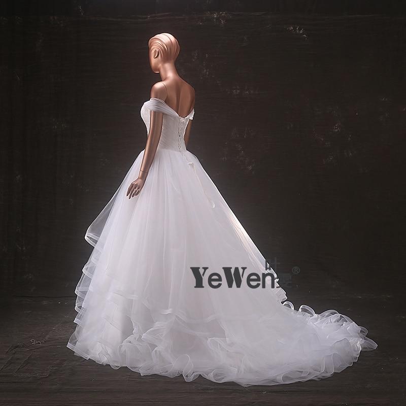 Aliexpress.com : Buy Beach Wedding dress 2018 Yewen off shoulder ...