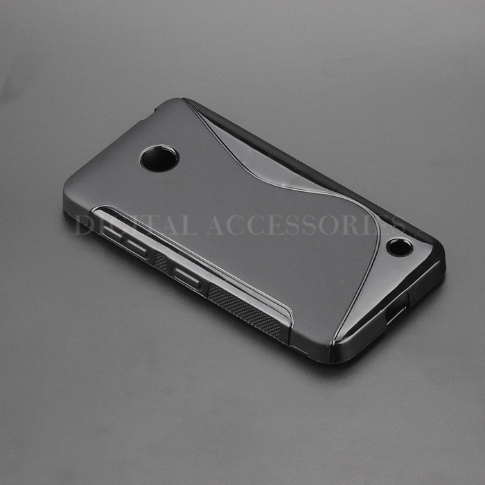 8 Color S Line Gel TPU Slim Soft Anti Skiding Case Back Cover For Nokia 630 Lumia 630 Mobile Phone Rubber silicone Bag Cases