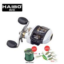 Haibo 9BB Haibo Steed Bait Baitcasting Steed 51cs Left Right Hand Drum Fishing Reel Feeder Carp Cast Equipment Gear Sea Spool