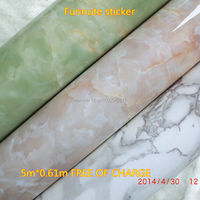Marble 3D Wallpaper Brick Stone Self Adhesive Wall Paper Waterproof Wall Mural Papel Bathroom Kitchen Papel