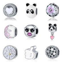 DIY pulsera  bracelet berloque beads mary poppins plata de ley 925 jewelry bijoux joyas valentine's day jewellery charms цена