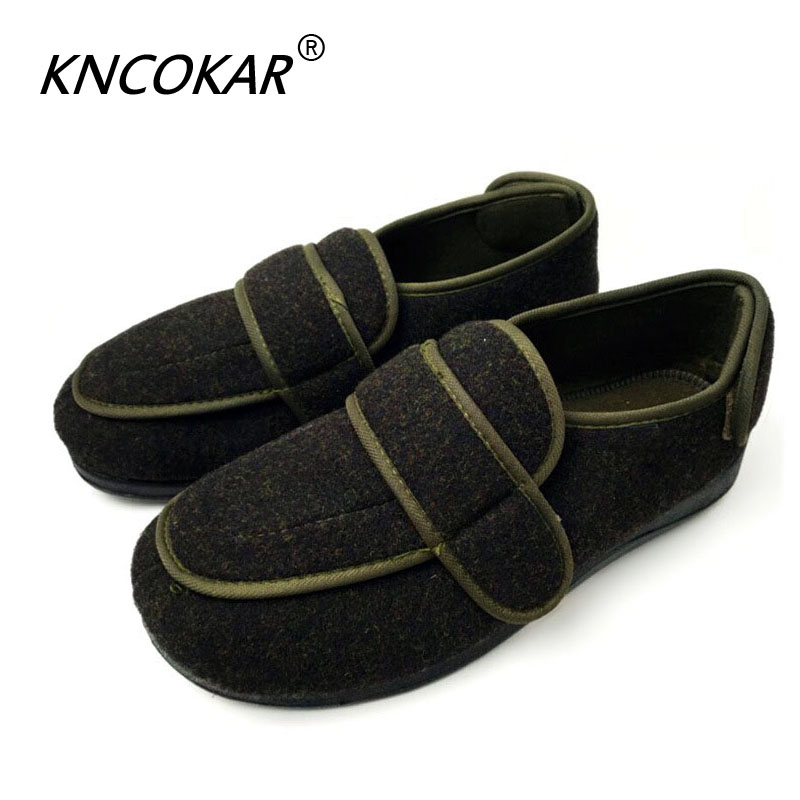 Heat sales high quality old age can be adjusted with wide shoe foot swollen toes the