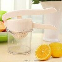 1 stks nieuwe handpers fruit spray tool juice extractor lemon orange squeezer koken verse sap maker gereedschap keuken accessoires