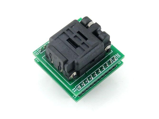 QFN20 TO DIP20 # MLF20 MLP20 Plastronics QFN IC Programming Adapter Test Burn-in Socket 4 * 4 mm 0.5 Pitch + Free Shipping