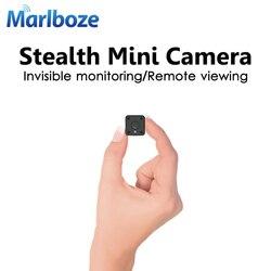 Marlboze 1080 p hd wifi mini câmera ip visão noturna movimento detectar mini câmera de vídeo loop gravador de vídeo embutido bateria corpo cam