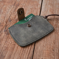 100% Genuine Leather credit card case card holder bank card case