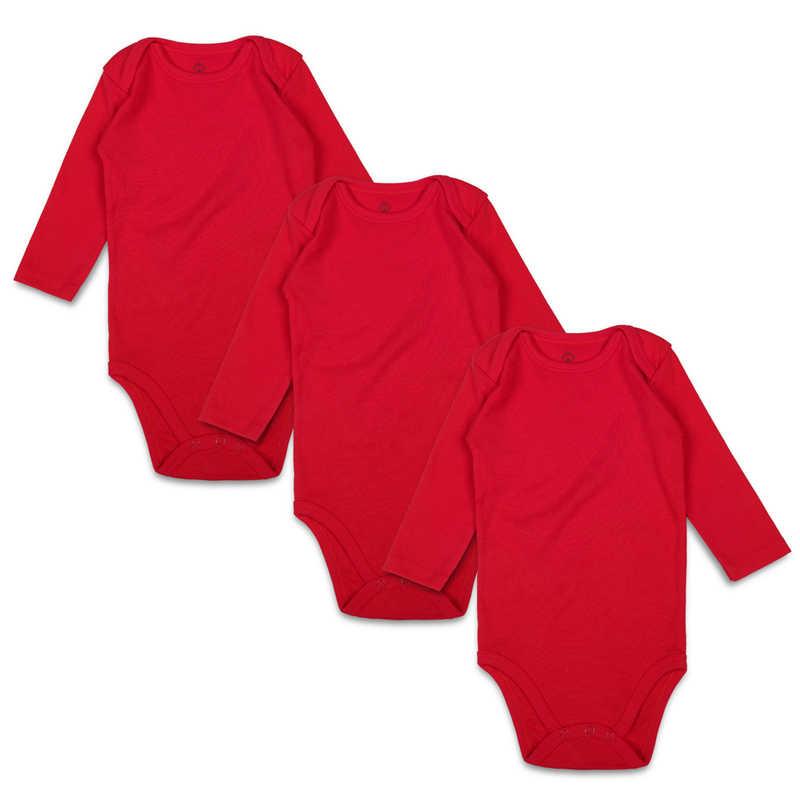 Боди для новорожденных, черный комплект из 3 предметов, 100% хлопок, длинный рукав, место, унисекс, Детские Боди для мальчиков и девочек от 0 до 24 месяцев, Одежда для младенцев