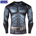 Men T-Shirt New Superhero Soldier Bucky Superman Anime 3D T Shirt Fitness Men Crossfit T-Shirt Long Sleeve Compression Shirt Top