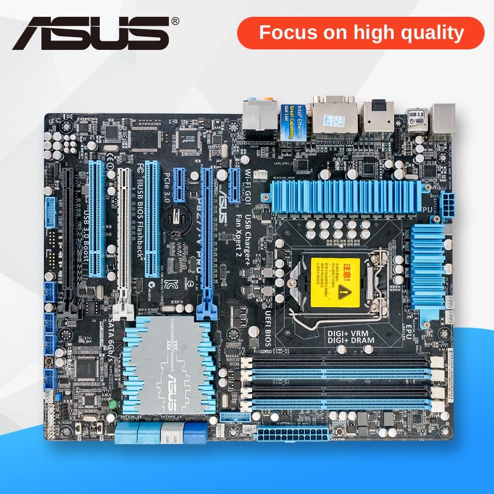For P8Z77-V PRO Original Used Desktop Motherboard For Intel Z77 Socket LGA 1155 For i3 i5 i7 DDR3 32G SATA3 USB3.0 ATX