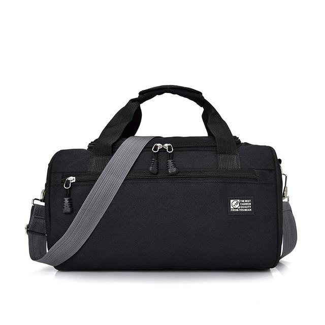 69aaeb3a52ca8 Spor çantaları Spor Salonu Için Kadın Erkek Spor spor çantası Su Geçirmez  Silindir Bir Omuz Açık