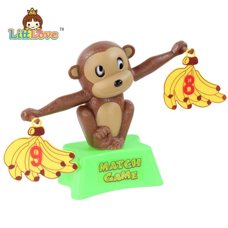 LittLove Funny Cute Monkey Bananas Сандар балансы Оқу - Білім беру және оқыту - фото 5