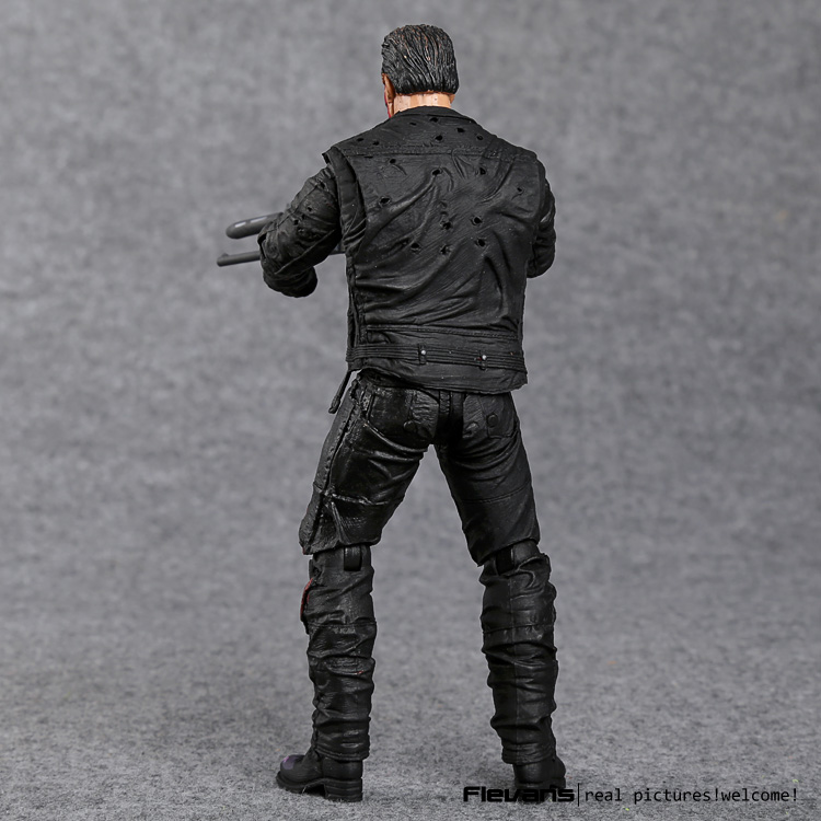 "Image 5 - The Terminator T 800 Arnold Schwarzenegger PVC Action Figure Collectible Model Toy 7"" 18cm-in Action & Toy Figures from Toys & Hobbies"