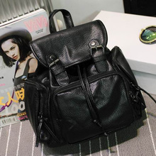 Модные рюкзаки женщины искусственная кожа школьная сумка для девочек женские Карамельный цвет дорожные сумки Водонепроницаемый сзади сумка Mochila Bolsas