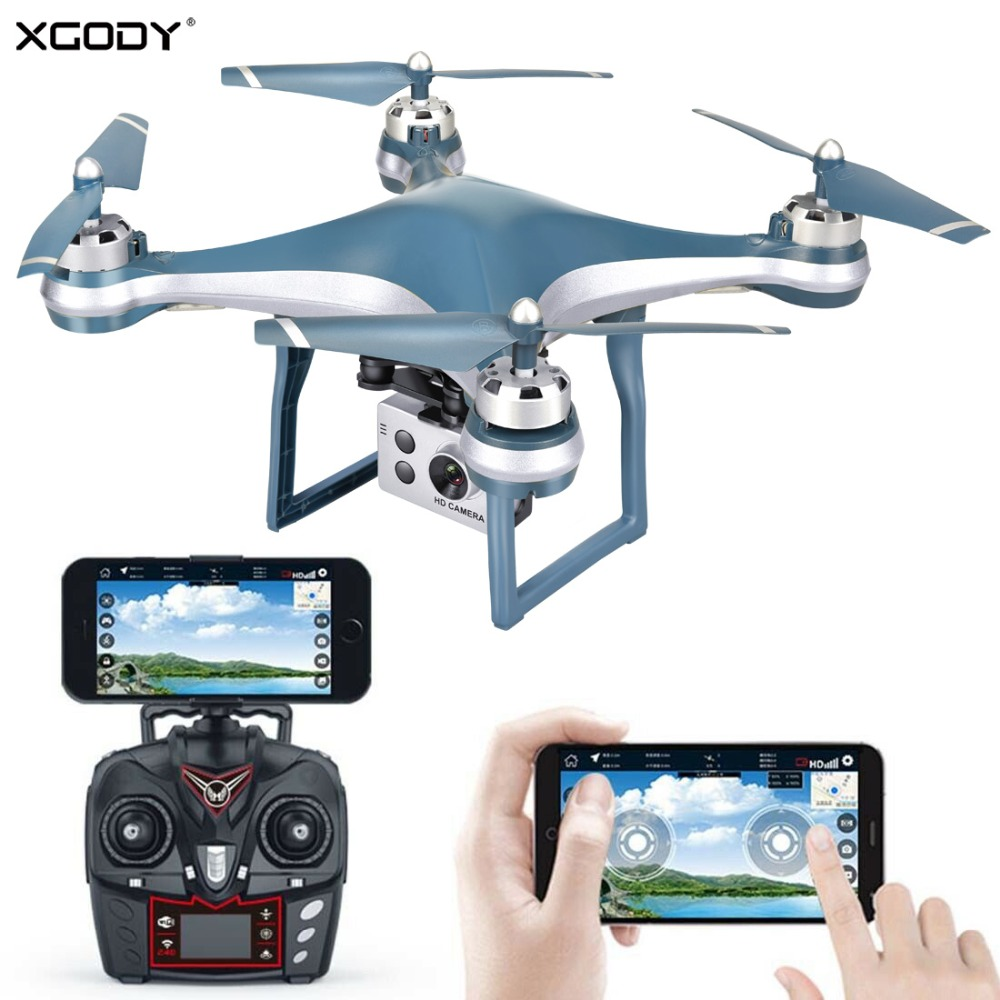 XGODY Premium GPS RC Quadcopter Drone With 5MP 1080P Adjustable WIFI FPV Camera