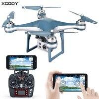 XGODY Premium GPS RC Quadcopter Drone With 5MP 1080P Adjustable Camera WIFI FPV Mini Helicopter Aircraft Mini Camera Drone