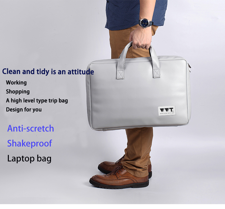WORLD WILD TIME waterproof laptop handbag