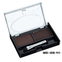 2 color Professional Makeup Palette Sets Combo matte shimmer eye shadow Concealer Brightening waterproof Face powder