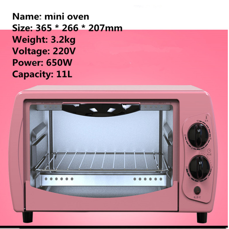 Home Electric Mini Bakery Oven With Timer For Making Bread, Pizza 11L Small  Household Multi Function Cake Baking Oven  In Ovens From Home Appliances On  ...