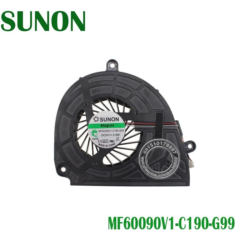 New For ACER 5750G 5750 5755 5755G 5350 P5WEO V3-551G Cooling Fan MF60090V1-C190-G99 DC280009KS0