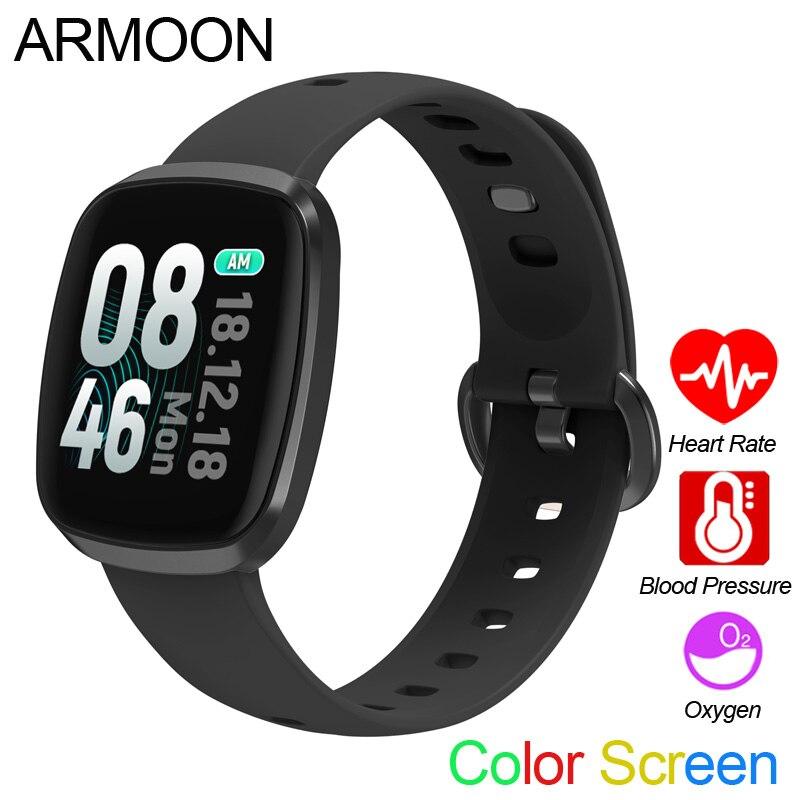444c41473392 Reloj inteligente GT103 Color Banda deportiva Frecuencia Cardíaca hombres  mujeres pulsera presión ...