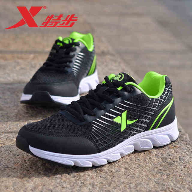 984119119372 Xtep Мужская обувь Летняя Студенческая спортивная дышащая обувь повседневная обувь для путешествий Мужская сетчатая обувь для бега