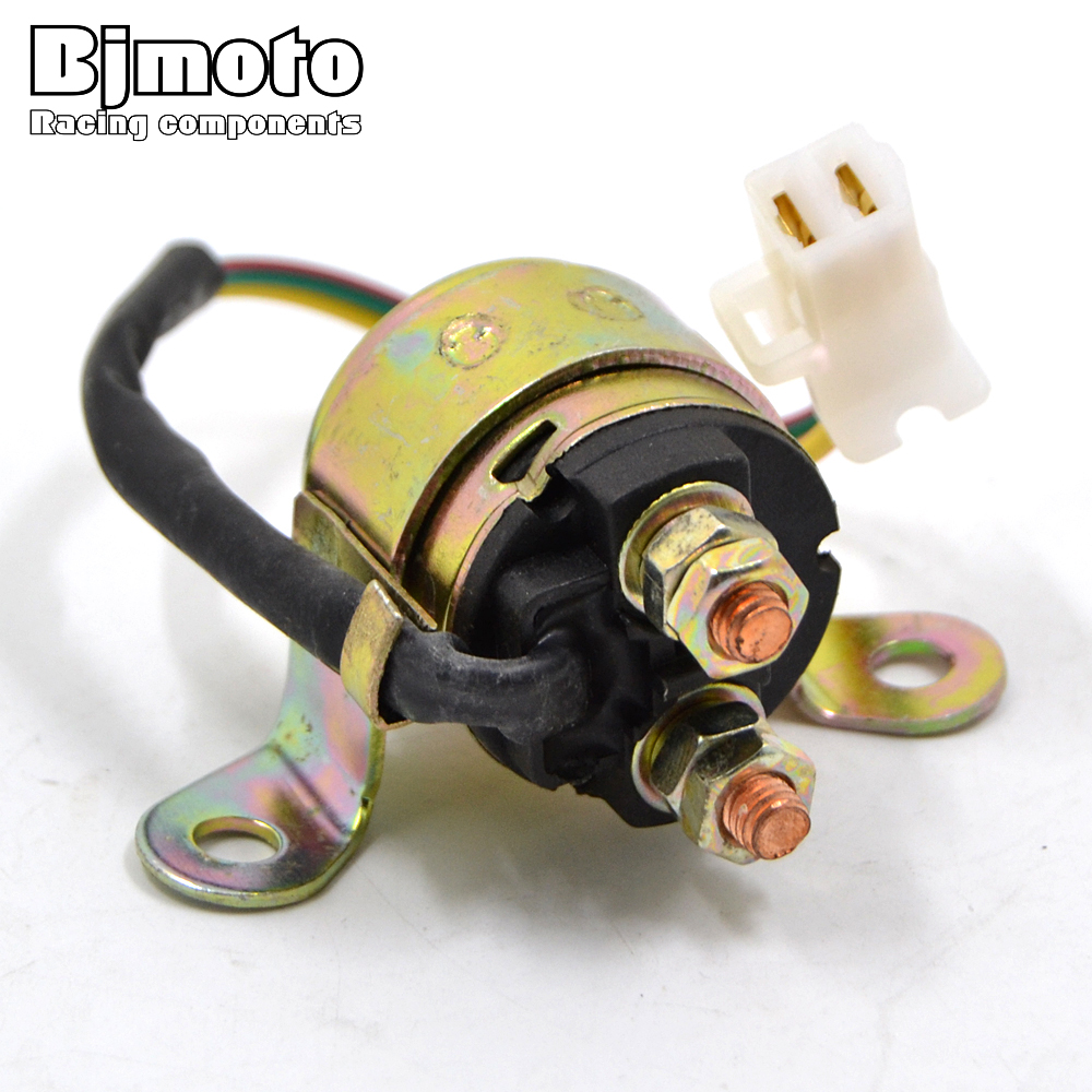 Bjmoto Motorcycle Electrical Parts Starter Solenoid Relay