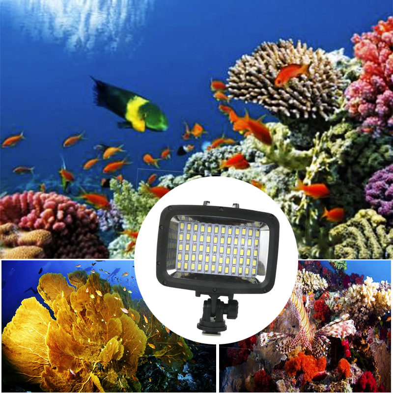 Orsda Gopro Light LED super bright diving waterproof video Light Gopro underwater photography ring light for
