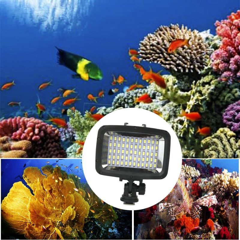 Orsda Gopro Light LED super bright diving waterproof video Light Gopro underwater photography ring light for