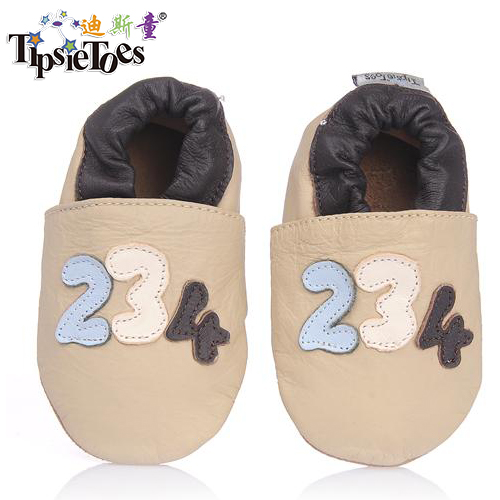 TipsieToes Brand Digital Genuine Leather Infant 0 - 6 Baby Kids Soft Toddler Shoes For Boys First Walkers 2020 Autumn Spring
