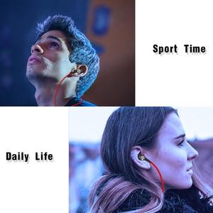 Image 5 - Draadloze Sport Bluetooth V4.2 Hoofdtelefoon Transpiratie Running Oefening Stereo Met Mic Oordopjes Oortelefoon Nekband Voor Iphone 11