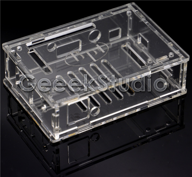 Transparent Case Acrylic Box Shell Protective Cover For BPI-M2 Banana Pi M2