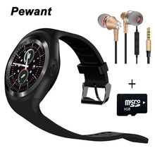 2017 Pewant Bluetooth Smart Watch For Xiaomi Huwei Android Phone Support WhatsApp SIM Card Passometer Smartwatch
