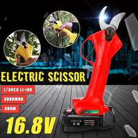 500 Вт 16,8 в 2000 мАч беспроводной секатор филиал Резак Электрические садовые ножницы дерево садовый инструмент