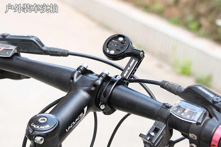 Gub 696 télescopique vélo vélo ordinateur support pour 31.8mm/25.4mm guidon réglable Compatible pour Garmin Bryton Cateye titulaire