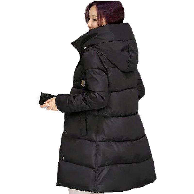 2016 New Winter Thickening Women Parkas Women Wadded Jacket Outerwear Fashion Cotton padded Jacket Medium long