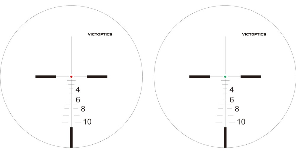 Victoptics 1-4x24FFP Acom Reticle