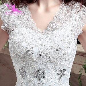 Image 3 - AIJINGYU 2021 아름다운 새로운 뜨거운 판매 싼 볼 가운 레이스 공식적인 신부 드레스 웨딩 드레스 WK316
