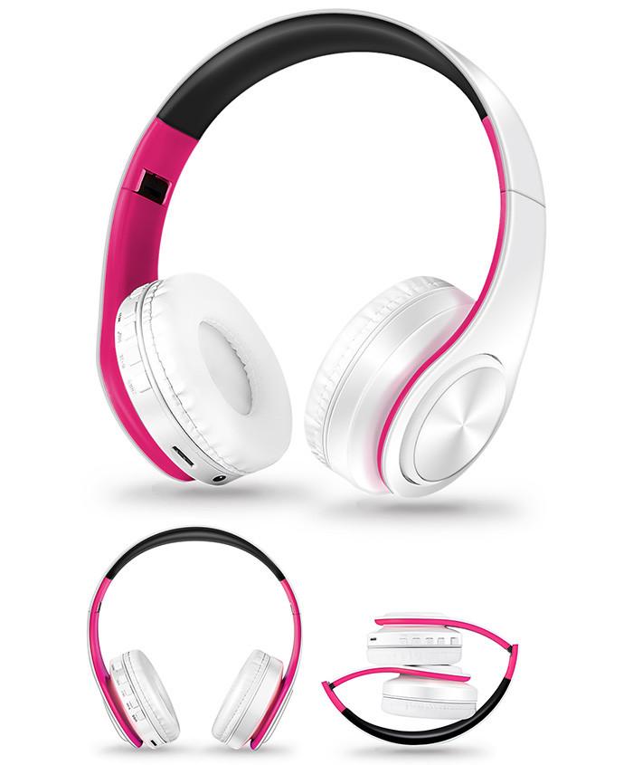 Słuchawki Bluetooth Headset słuchawki Bezprzewodowe Słuchawki Stereo Składany Sport Słuchawki Mikrofon słuchawki Tryb Głośnomówiący odtwarzacz MP3 13