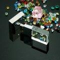 Envío gratis regalos promocionales logotipo personalizado personal gadgets usb de cristal 4 GB USB flash drive