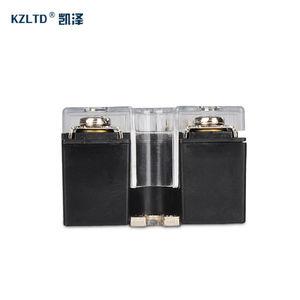 Image 3 - SSR 40LA Voltage Regulator Solid State 4 20MA to 28 280V AC Voltage Relay SSR 40A w/Cover relais KS1 40LA Quality Guarantee